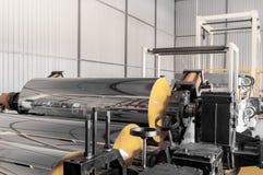 Εργαστήριο για την παραγωγή του πολυπροπυλενίου και του πολυαιθυλενίου Στοκ φωτογραφίες με δικαίωμα ελεύθερης χρήσης