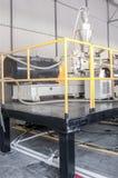Εργαστήριο για την παραγωγή του πολυπροπυλενίου και του πολυαιθυλενίου Στοκ Φωτογραφία