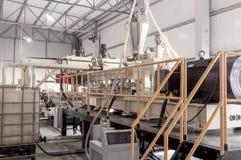 Εργαστήριο για την παραγωγή του πολυπροπυλενίου και του πολυαιθυλενίου Στοκ Εικόνες