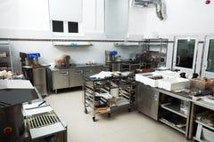 Εργαστήριο για την παραγωγή των προϊόντων σοκολάτας Στοκ Φωτογραφίες