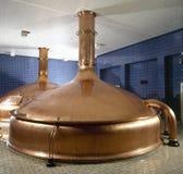 εργαστήριο ζυθοποιείων Στοκ φωτογραφία με δικαίωμα ελεύθερης χρήσης