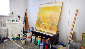 Εργαστήριο καλλιτεχνών s Στοκ Φωτογραφίες