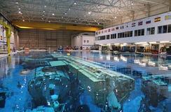 Εργαστήριο ουδέτερης πλευστότητας - διαστημικό κέντρο Johnson Στοκ Φωτογραφίες