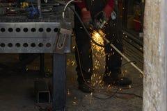 Εργαστήριο σιδηρουργών Στοκ Εικόνα