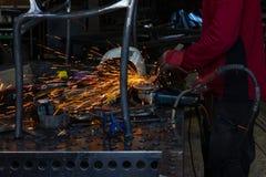 Εργαστήριο σιδηρουργών Στοκ Εικόνες