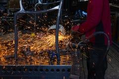 Εργαστήριο σιδηρουργών Στοκ φωτογραφίες με δικαίωμα ελεύθερης χρήσης