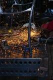 Εργαστήριο σιδηρουργών Στοκ Φωτογραφία