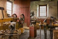 εργαστήριο σιδηρουργών Στοκ φωτογραφία με δικαίωμα ελεύθερης χρήσης