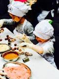 Εργαστήριο σοκολάτας Στοκ εικόνα με δικαίωμα ελεύθερης χρήσης