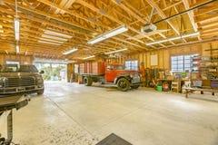 Εργαστήριο στο νότιο σπίτι Καλιφόρνιας με ένα θολωτό ανώτατο όριο Στοκ Φωτογραφίες