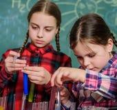 Εργαστήριο σχολικής χημείας o Εκπαιδευτική έννοια Μαθητές στην κατηγορία χημείας ευτυχή παιδιά στοκ φωτογραφίες