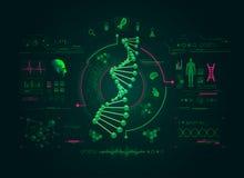 Εργαστήριο της βιολογίας διανυσματική απεικόνιση