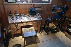 Εργαστήριο των πρώτων υποδηματοποιών στοκ φωτογραφία με δικαίωμα ελεύθερης χρήσης