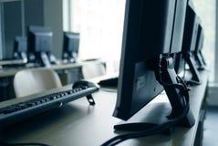 εργαστήριο υπολογιστών Στοκ εικόνα με δικαίωμα ελεύθερης χρήσης