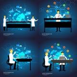 Εργαστήριο χημείας επίσης corel σύρετε το διάνυσμα απεικόνισης Στοκ εικόνες με δικαίωμα ελεύθερης χρήσης