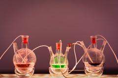 Εργαστήριο χημείας Στοκ φωτογραφίες με δικαίωμα ελεύθερης χρήσης