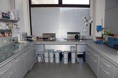 εργαστήριο χρωματομετρί&a Στοκ Φωτογραφίες