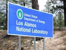 Εργαστήριο Los Alamos Στοκ φωτογραφία με δικαίωμα ελεύθερης χρήσης