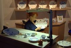 Εργαστήριο Meissen, Γερμανία επίδειξης Στοκ φωτογραφίες με δικαίωμα ελεύθερης χρήσης
