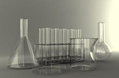 Εργαστηριακά γυαλικά στοκ φωτογραφίες