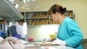 Εργαστηριακή έρευνα των σπόρων καλαμποκιού δείγματα των διαφορετικών ειδών, ποικιλίες του καλαμποκιού επιλογής εργαστήριο για φιλμ μικρού μήκους