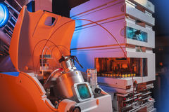 Εργαστηριακός εξοπλισμός βιοτεχνολογίας Στοκ Εικόνες