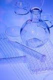 Εργαστηριακό γυαλί Στοκ Εικόνα
