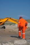εργατικό δυναμικό ανασκαφής Στοκ εικόνες με δικαίωμα ελεύθερης χρήσης