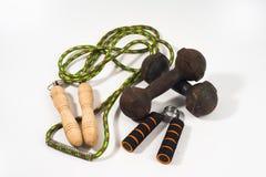 Εργαλεία άσκησης βασικά στοκ φωτογραφία με δικαίωμα ελεύθερης χρήσης