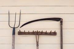 εργαλεία γεωργίας Στοκ Εικόνα