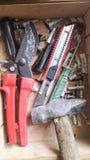 Εργαλεία για τις επισκευές Στοκ εικόνα με δικαίωμα ελεύθερης χρήσης