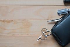 Εργαλεία για τον κομμωτή Στοκ φωτογραφία με δικαίωμα ελεύθερης χρήσης