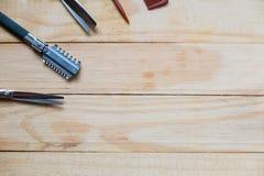 Εργαλεία για τον κομμωτή Στοκ Εικόνα