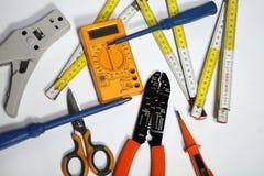 Εργαλεία για τους ηλεκτρολόγους Στοκ εικόνα με δικαίωμα ελεύθερης χρήσης