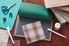 Εργαλεία για το πάπλωμα Applique Στοκ εικόνα με δικαίωμα ελεύθερης χρήσης