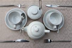 Εργαλεία για το τσάι Στοκ εικόνα με δικαίωμα ελεύθερης χρήσης