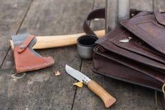 Εργαλεία για υπαίθριο Στοκ Φωτογραφίες