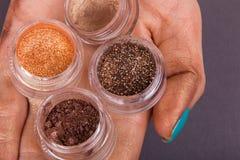 Εργαλεία για makeup Στοκ φωτογραφία με δικαίωμα ελεύθερης χρήσης