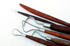 Εργαλεία γλυπτών. Στοκ Φωτογραφία