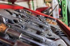 Εργαλεία επισκευής μοτοσικλετών Στοκ φωτογραφίες με δικαίωμα ελεύθερης χρήσης