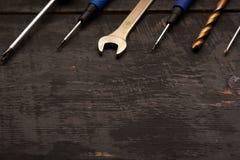 Εργαλεία επισκευής στον πίνακα Στοκ Φωτογραφία