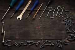Εργαλεία επισκευής στον πίνακα Στοκ φωτογραφία με δικαίωμα ελεύθερης χρήσης