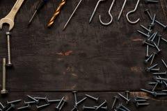 Εργαλεία επισκευής στον πίνακα Στοκ εικόνα με δικαίωμα ελεύθερης χρήσης