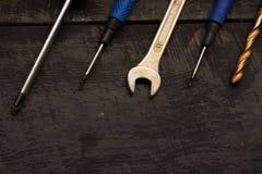Εργαλεία επισκευής στον πίνακα Στοκ φωτογραφίες με δικαίωμα ελεύθερης χρήσης