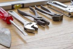 Εργαλεία εργασίας που φοριούνται Στοκ φωτογραφία με δικαίωμα ελεύθερης χρήσης