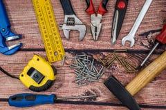 Εργαλεία εργασίας συλλογής Στοκ φωτογραφία με δικαίωμα ελεύθερης χρήσης