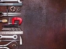 Εργαλεία εργαστηρίων μετάλλων Στοκ Εικόνες