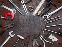 Εργαλεία εργαστηρίων μετάλλων Στοκ Φωτογραφίες
