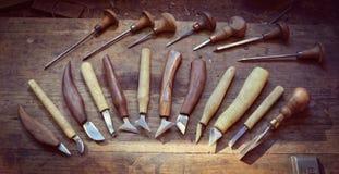 Εργαλεία εργαστηρίων Στοκ Φωτογραφία