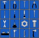 Εργαλεία εργαλείων και πάγκων ξυλουργού Στοκ φωτογραφία με δικαίωμα ελεύθερης χρήσης